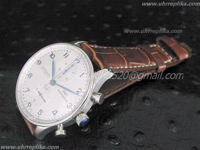 iwc portugieser replica automatic chrono Weiss