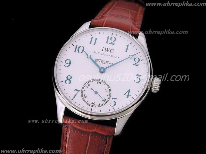 iwc fa jones for sale Blue-Asian Unitas 6498